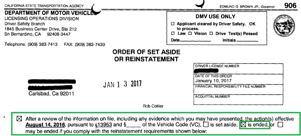 California department of motor vehicles driving record for Ca department of motor vehicles registration
