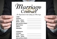 Texas prenup agreement